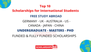 International Scholarships for African Students 2021/2022